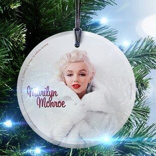 Marilyn Monroe (White Fur) Hanging Shaping Ornament