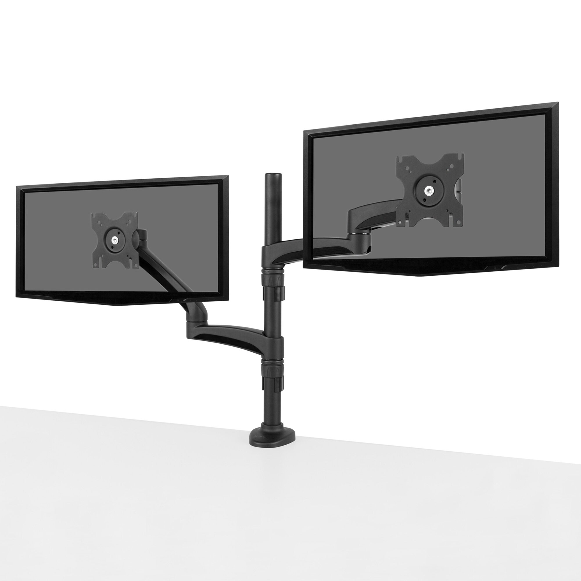 Kanto Dual Monitor Articulating Arm Desktop Mount For 13 27 Flat