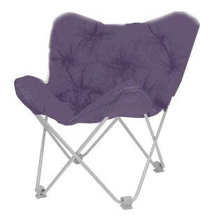 Elegant Purple Butterfly Chair | Wayfair
