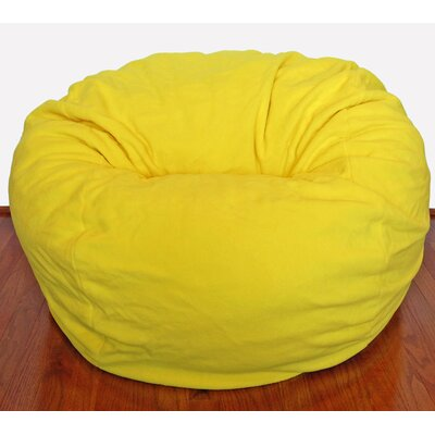 Awe Inspiring Bean Bag Chair Ahh Products Upholstery Yellow Andrewgaddart Wooden Chair Designs For Living Room Andrewgaddartcom