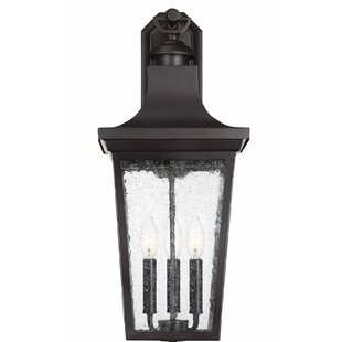 Bloomsbury Market Mikell 3-Light Outdoor Wall Lantern