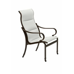 Torino Patio Dining Chair With Cushion by Tropitone Comparison
