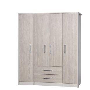 Henton 4 Door Wardrobe By 17 Stories