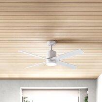 Modern White Cream Blades Ceiling Fans Allmodern