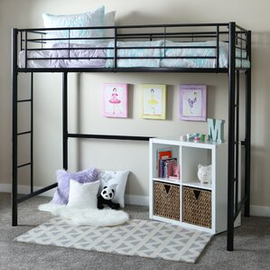 Belfort Twin Loft Bed Configurable Bedroom Set by Loon Peak