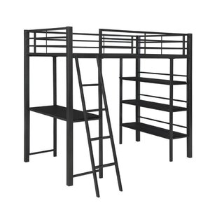 Sessoms Twin Over Twin Loft Bunk Configurable Bedroom Set by Harriet Bee