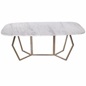 Chancery Ultra Modern Marble Coffee Table