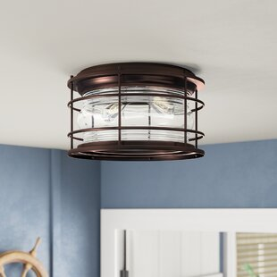 Longshore Tides Griffin 2-Light Flush Mount