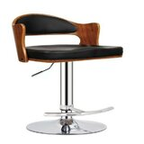 Staggs Adjustable Height Swivel Bar Stool by Orren Ellis