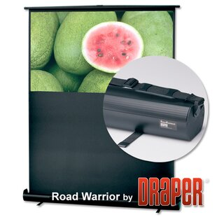 RoadWarrior Matt White Portable Projection Screen