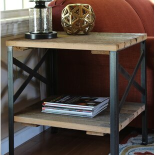 Christiansen Handcrafted Reclaimed End Table by Williston Forge