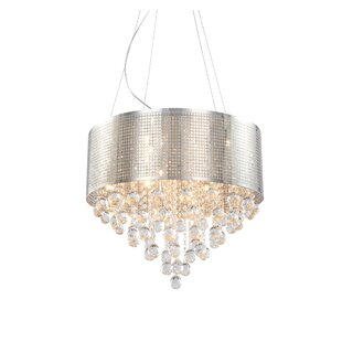 Mercer41 Brucedale Frame 5-Light Chandelier