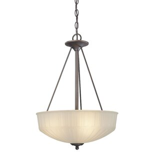 Beckemeyer 3-Light Bowl Pendant by Red Barrel Studio