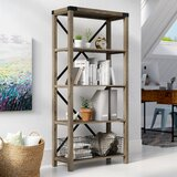 Arsenault 64 H x 30 W Etagere Bookcase by Foundry Select