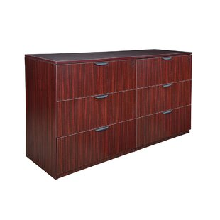 Online Reviews Linh Stand Up Side to Side 6-Drawer Lateral Filing Cabinet by Latitude Run