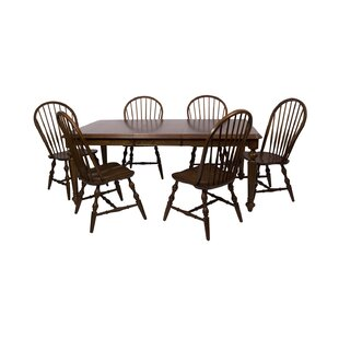 Lockwood 7 Piece Dining Set Loon Peak