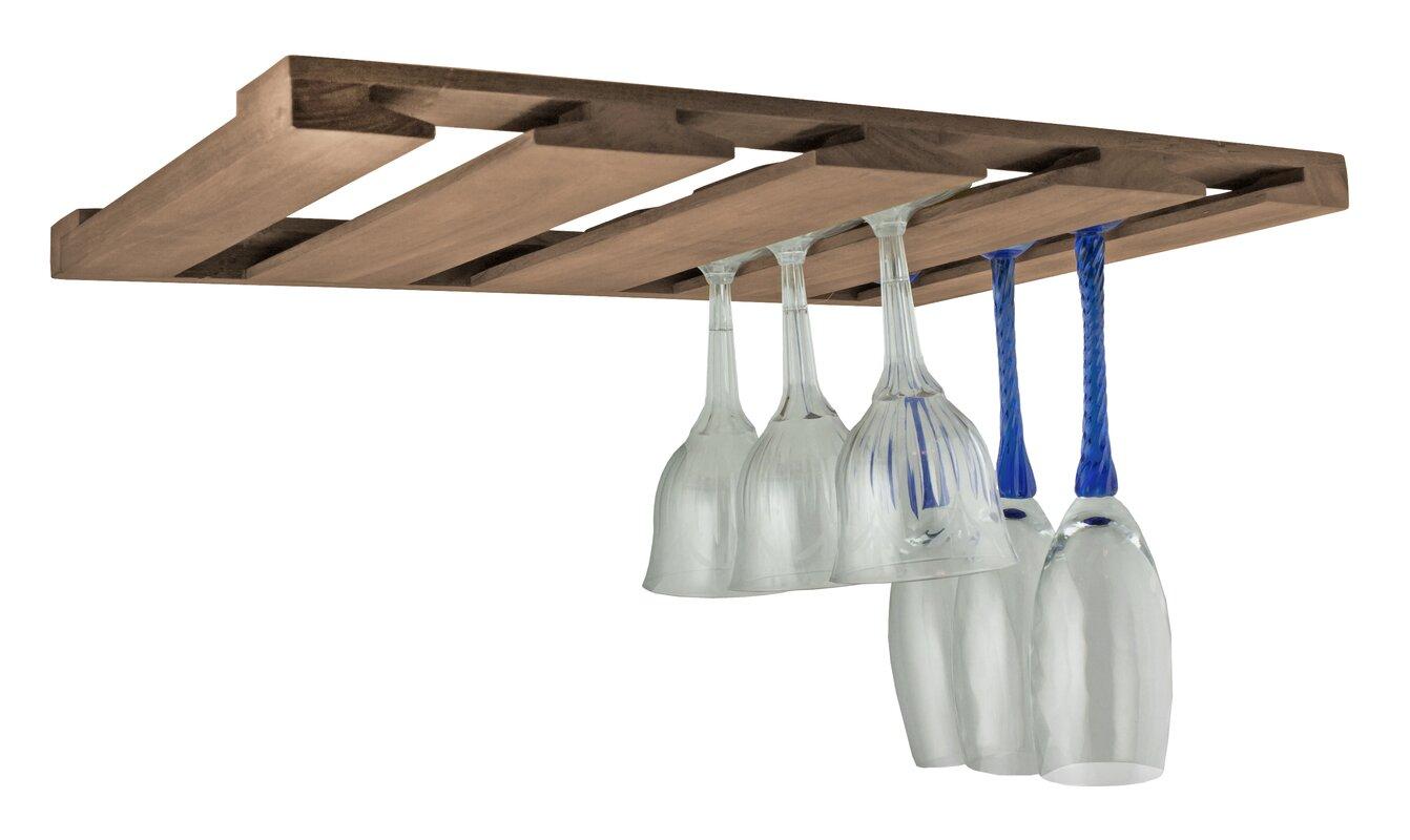 Overhead Hanging Wine Glass Rack