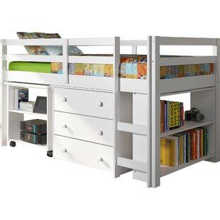 Senger Twin Low Loft Bed w..