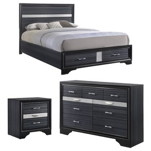 Jules Platform Configurable Bedroom Set by Mercer41
