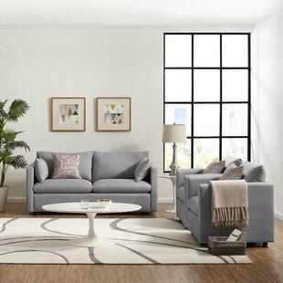 Shabari 3 Piece Living Room Set By Brayden Studio