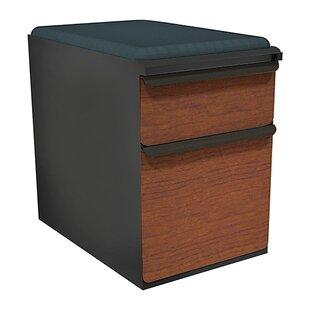 Marvel Office Furniture Zapf 2-Drawer Mobile Pedestal File Cabinet