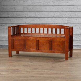 Anahuac Wood Storage Bench