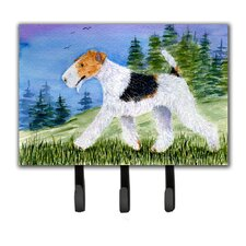 Fox Terrier Key Holder by Caroline's Treasures