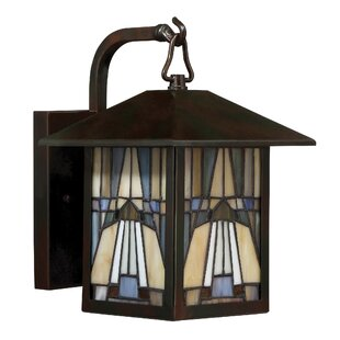 Loon Peak Bush 1-Light Outdoor Wall Lantern