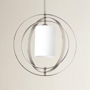 Brayden Studio Morganti 1-Light Globe Pendant