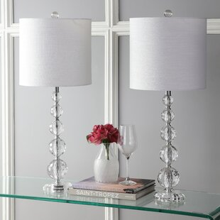Clyburn 28 Table Lamp (Set Of 2) by House of Hampton Fresh