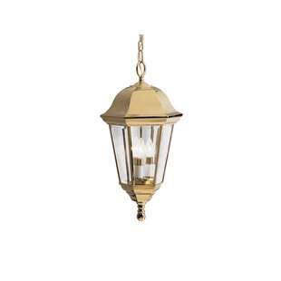 Darby Home Co Mulgrave 3-Light Outdoor Hanging Lantern