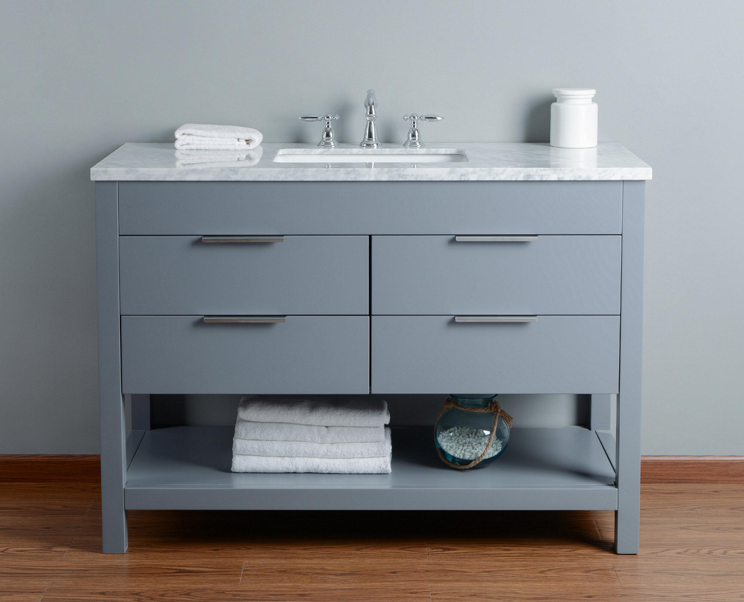 Brayden studio knorr 48 single bathroom vanity set wayfair