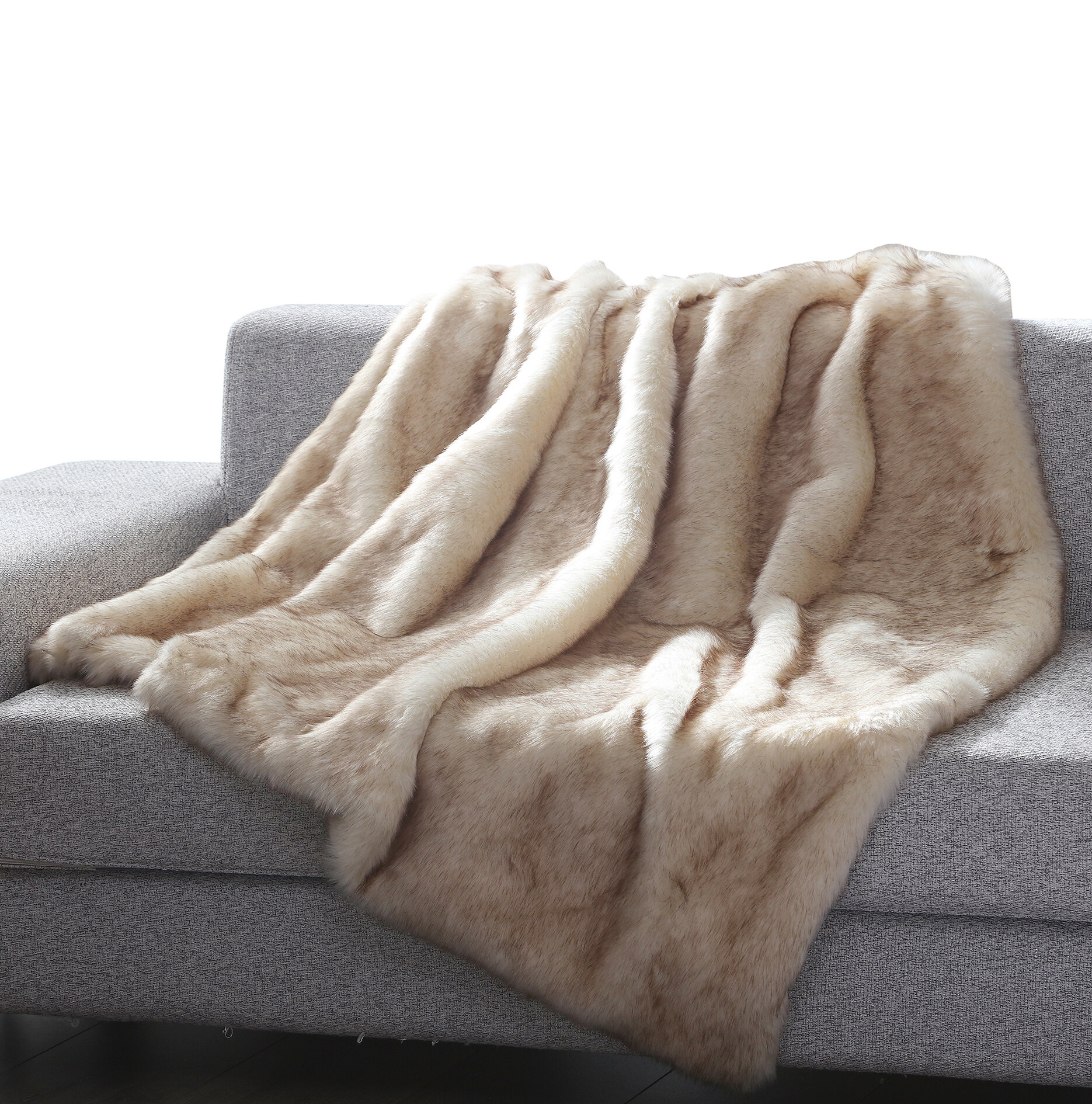 "Cosy Blanket /""Fur-Look/"""