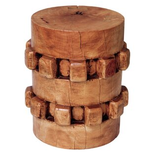 Gear Accent Stool by Asian Art Imports