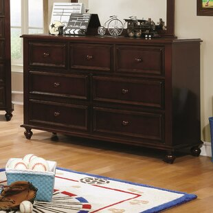 Bargain Eliot Traditional 7 Drawer Dresser by Harriet Bee Reviews (2019) & Buyer's Guide