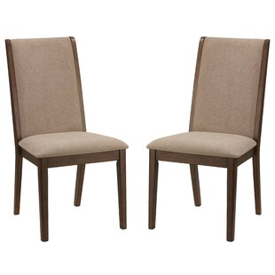 Charlton Home Port Morris Kendall Upholstered Dining Chair (Set of 2)