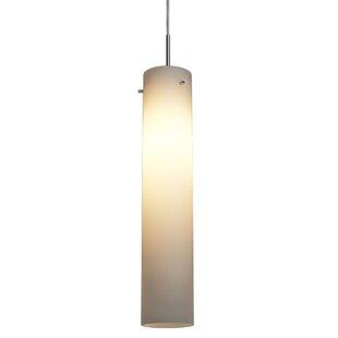 Ontario 1-Light Cylinder Pendant by Orren Ellis