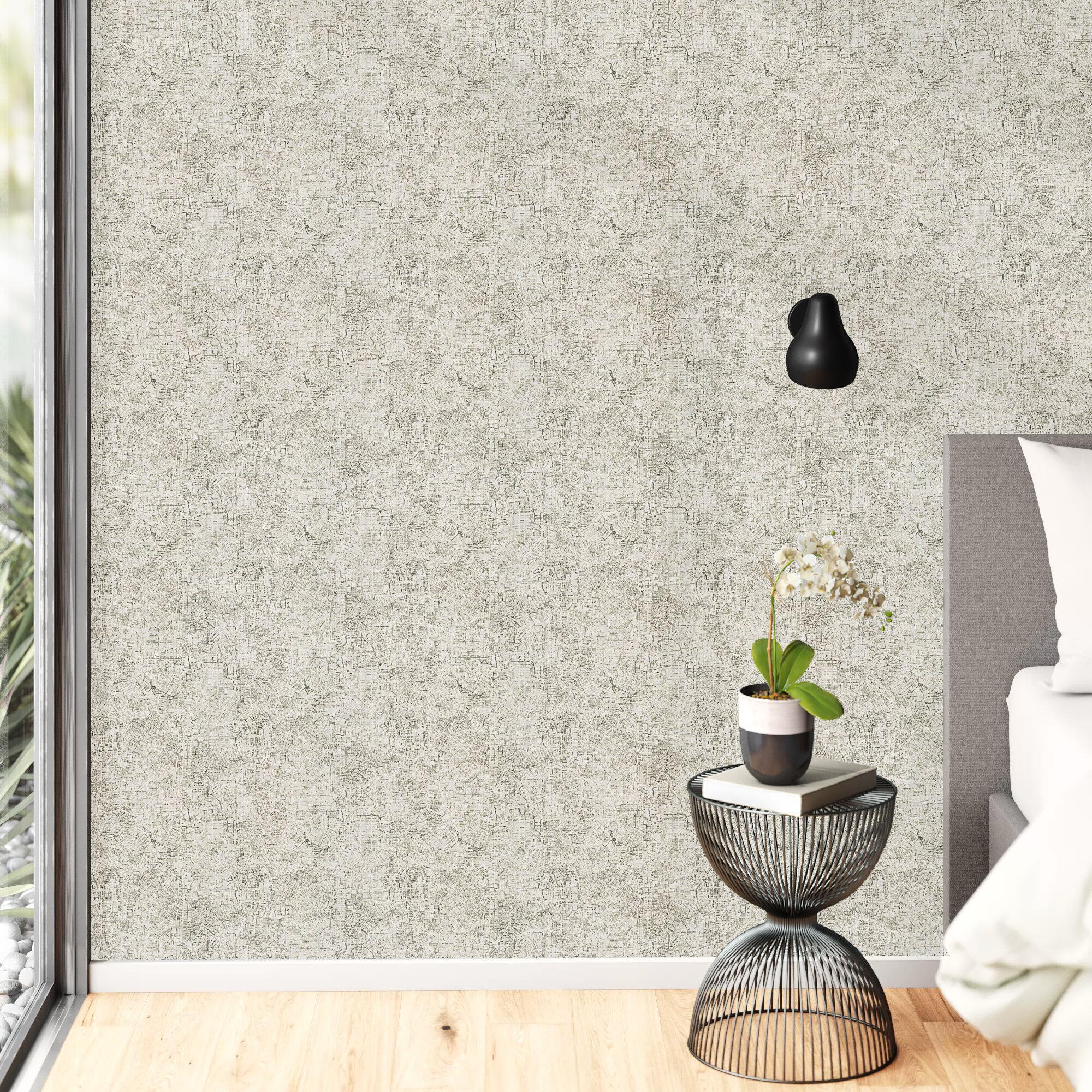Darion 16 5 L X 20 5 W Geometric Peel And Stick Wallpaper Roll Reviews Allmodern