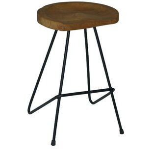 Lukas Rustic Counter Bar Stool