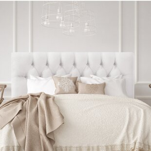 Bridget Upholstered Panel Headboard by Wayfair Custom Upholstery™