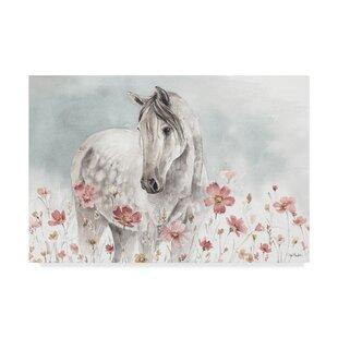 Wild Horses I  Acrylic Painting Print on Wrapped Canvas 23c78aa08