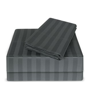 Luxury Hotel 100% Cotton Striped Sheet Set (Set of 4) ByBare Cotton
