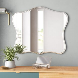 Titsworth Frameless Fancy Wall Mirror