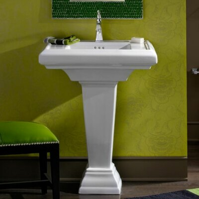 "Bathroom Sink Yellow kohler memoirs 24"" wall mount bathroom sink & reviews 