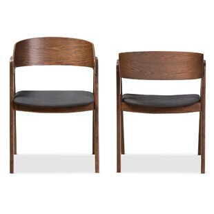 Widger Solid Wood Dining Chair (Set of 2) by George Oliver