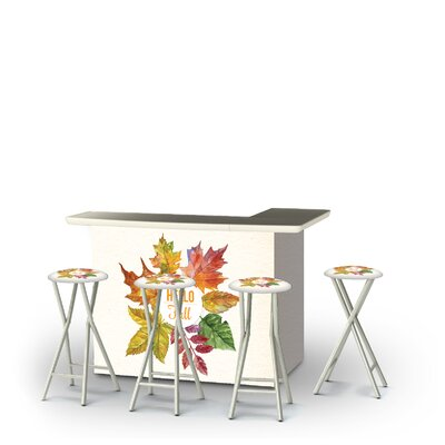 Ycatapom Fall Hello Fall 5-Piece Bar Set by East Urban Home New Design