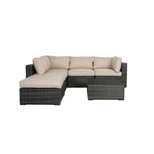 Barwick 6 Piece Sectional Set with Cushions