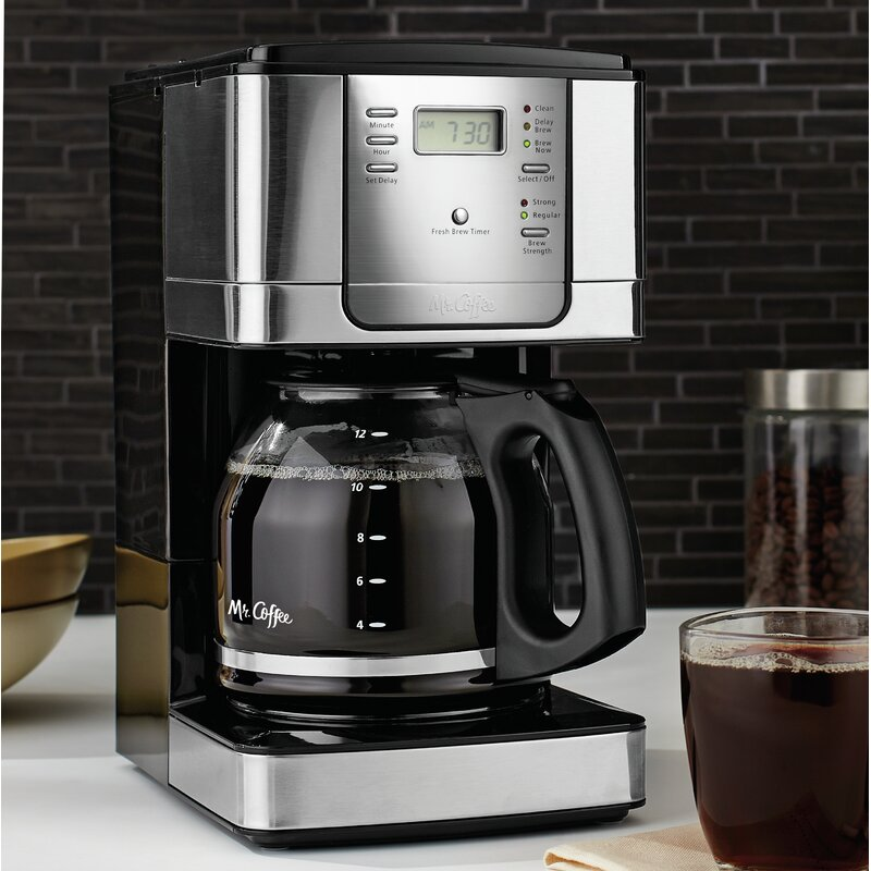 Mr Coffee Jwx Series 12 Cup Programmable Coffeemaker Reviews