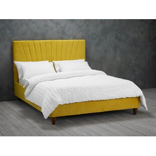 Maritza Upholstered Bed Frame By Mercury Row