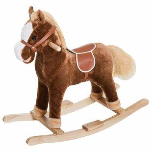 Order Kids Plush Toy Rocking Horse ByQaba